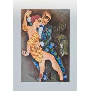 Juarez Machado - Tango 2 - 86-100. Fineart, 100x70 cm, sem data, A.C.I.D. Sem moldura