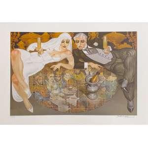 Juarez Machado - Noivos - 159-200. Fineart, 50x70 cm, sem data, A.C.I.D. Sem moldura