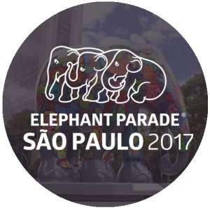 Leilões Esporádicos ou Beneficentes - Elephant Parade São Paulo 2017