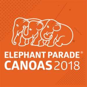 Leilões Esporádicos ou Beneficentes - Leilão da Elephant Parade Canoas 2018