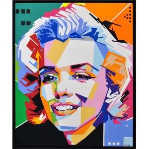 Celau - Marilyn Monroe - Serigrafia - 77 x 63 CM - A.C.I.D