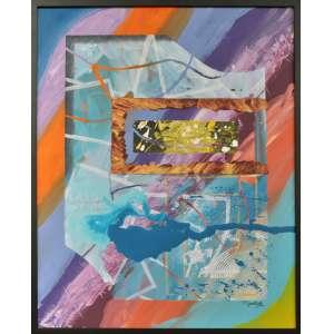Tânia Emerick - Projetos da mente - Acrílica sobre tela - 80 x 100 CM - A.C.I.D
