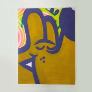 Mao Oplês - Tinta acrílica e spray sobre tela - 60x80cm - Com certificado de autenticidade