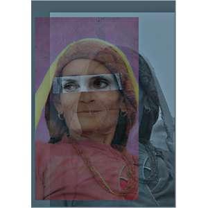Dani Tranchesi - 2016, Nepalesa - Série Fotopinturas, Impressão sobre acrílco - medida em cm: 29,7 x 21,4