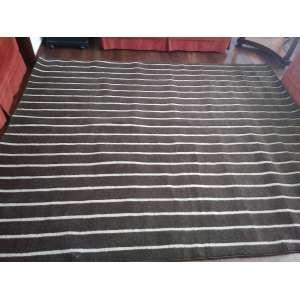 By Kami - 2018, Laretro Stripes, 100% lã - medida em cm: 250 x 200