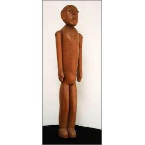 João Francisco da Silva - 2006, Sem título, Escultura em madeira - medida em cm: 46 x 9 x 9