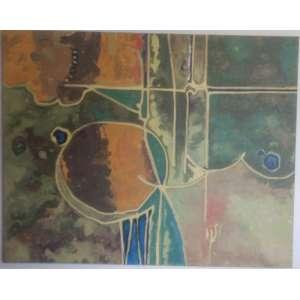 Luiz Olinto - 2018, Floresta Tropical, Acrílica sobre tela - medida em cm: 120 x 150