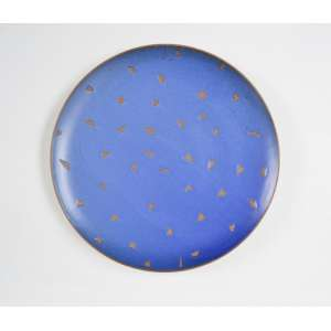 Kimi Nii - Sem data, Prato Redondo Decorado, Cerâmica - medida em cm: 43cm diâmetro