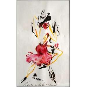Sorona - Sem data, Tango em Buenos Aires - medida em cm: 39 x 28