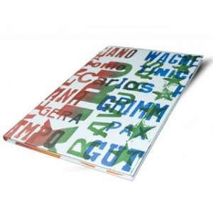 Editora Choque Cultural - 2006, Xilogravuras - Choque Cultural, Capa dura, encadernado à mão - medida em cm: 66 x 48