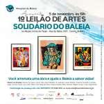 Leilões Esporádicos ou Beneficentes - Leilão de obras de arte em beneficio ao Hospital da Baleia