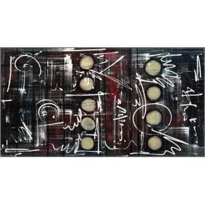 Cynthia Lagrotta - 2019, Sem título, Acrílica e mista sobre tela, 70x130cm