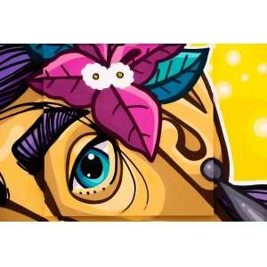 Pack Toledo - Pintura sobre tela - tamanho 1x1m - técnica mista