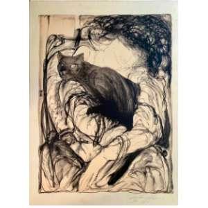 Guilherme de Faria- Descanso; 1980; 50 x 70; Litografia