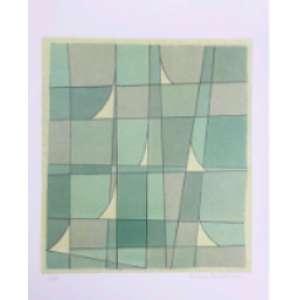 Rubens Ianelli - Formas Geométricas; 50 x 35; Serigrafi