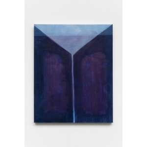 Julia da Mota - Fenda, 2017 - Óleo sobre tela - Edição Única - Assinada - 50 x 40 x 3 cm<br><br><b>INGLÊS</b><br>Julia da Mota - Fenda, 2017 - Oil on canvas - Single Edition - Signed - 50 x 40 x 3 cm