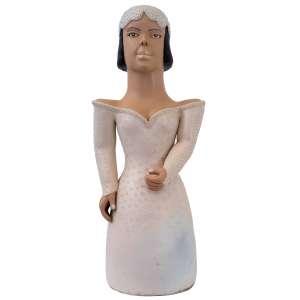 Rita Ferreira - Noiva; Cerâmica; 68 cm;