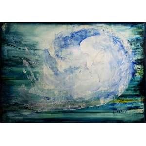 Carlos Araújo - A bênção - óleo sobre tela sobre madeira - 110x160 cm - com moldura