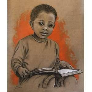 Diego Mendonça - É tempo de meditar - acrílico e lápis de cor sobre papel craft - 45x36 cm - com moldura - 53x62 cm