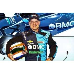Macacão Rubinho Barrichello<br /><br />Campanha Indy 2012 (estreia na Indy)