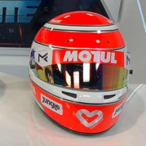 Capacete Nelsinho Piquet - É um capacete igual ao que ele competirá na Stock 2021.