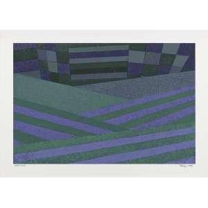 Artista: Aldir Mendes de Souza<br>Título: série Paisagem Agrícola<br>Ano: 1982<br>Técnica: Serigrafia<br>Edição: 285/350<br>Dimensões: 40 x 60 cm<br>Valor Avaliado: R$ 800,00<br>Doação: