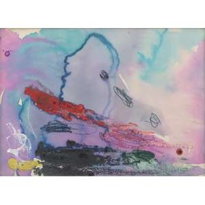 Título: Artista desconhecido<br>Ano: sem data<br>Técnica: Aquarela e guache sobre papel<br>Edição: peça única<br>Dimensões: 20 x 28 cm<br>Doação: Lilian Nigri