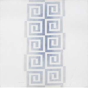 Artista: Sachiko Koshikoku<br>Título: Sem título<br>Ano: 2006<br>Técnica: acrílica sobre tela<br>Edição: peça única<br>Dimensões: 100 x 100 cm<br>Valor Avaliado: R$ 18.000,00<br>Doação: Bruno Assami