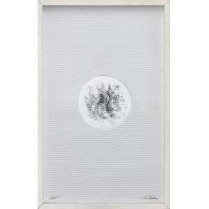 """Artista: Paulo Bruscky<br>Título: """"Ondulação""""<br>Ano: 2008<br>Técnica: gravura de ação sobre papel ondulado<br>Edição: edição de 100<br>Dimensões: 50 x 81 cm"""