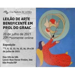 Leilões Esporádicos ou Beneficentes - Leilão de Arte Beneficente à GRAAC