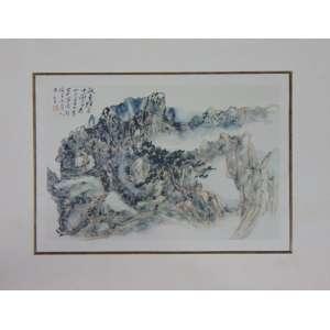 Reprodução Gráfica oriental - (não emoldurado) - 26 x 37 cm