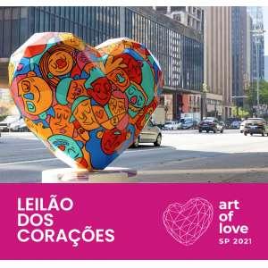 Leilões Esporádicos ou Beneficentes - Art of Love SP 2021