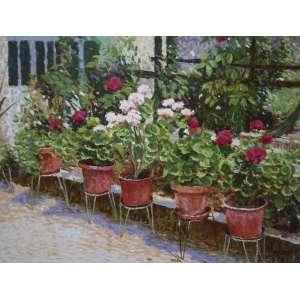 Raquel Taraborelli, Vasos de Flores - Óleo sobre Tela - Med. 60 x 80 cm