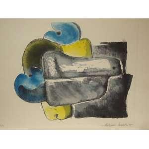 ALDEMIR MARTINS, cajus, gravura tiragem 89/100 , 35x50cm, sem moldura, datado de 1995, assinada pelo artista