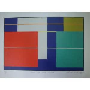 PAULO CALAZANS, varal da Rua Lisboa, gravura, tiragem 14/100, 2009, 48x66cm, sem moldura