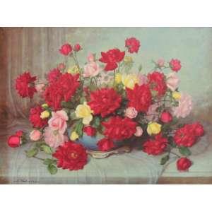 Takaki, Shokichi – Rosas – OST – nas medidas de 60 X 80 cm