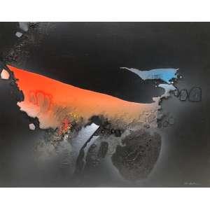 Kenji Fukuda - Dimensões: 80 x 100cm , Técnica: Óleo sobre tela