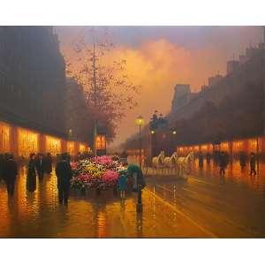 CANDIDO OLIVEIRA, Paris - Óleo sobre tela - 120x160 cm - ACID e VERSO