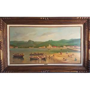VINCENZO CENCIN, Paraty - Oleo sobre tela - 50x100 cm - ACIE