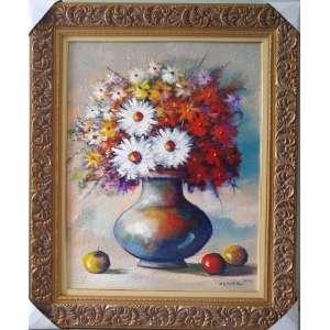 Marco Antonio Moreira - vaso com flores , o.s.t., nas medidas de 90 X 70