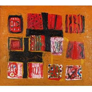 SIRON FRANCO <br />Santa Maria, Pinta e Nina. <br />Óleo sobre tela. <br />Assinado, titulado e datado 1997/2000 no verso. <br />102 x 116 cm