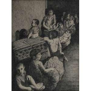 Maria Alcina<br />Nanquim sobre papel <br />Assinado inferior direito <br />35 x 27 cm<br />