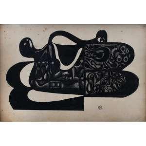Di Cavalcanti<br />Mulata deitada<br />gravura com intervenção<br />Assinada inferior direito <br />28 x 40 cm.<br />