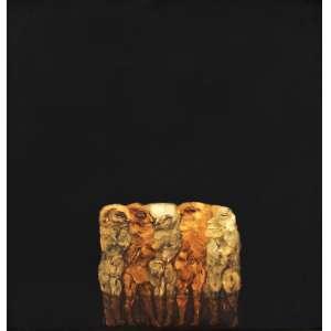 Siron Franco <br />Aperto, assinado, datado 1976, titulado e situado Goiânia – Goiás, no verso, 124 x 118 cm. No estado