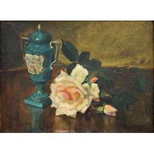Lucilia Fraga<br />Óleo sobre tela, assinado inferior direito, 33 x 45 cm.