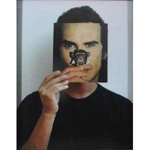 Daniel Toledo<br />Sem título, da serie mascara, 2005, C-print, edição de 3. <br />63 x 49 cm.