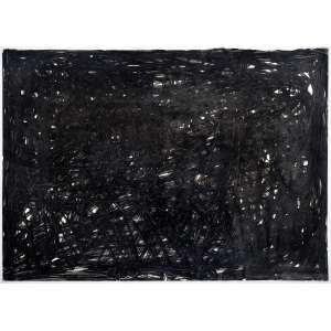 Franz Weissmann<br />Nanquim sobre papel, Assinado, datado 1963 e situado Madrid no verso.<br />50 x 70 cm. (sem moldura, no estado)