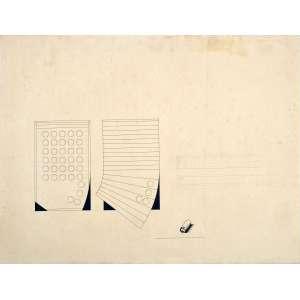 Carlos Vergara<br />Desenho a lápis e nanquim, assinatura em alto-relevo.<br />52 x 69 cm. (sem moldura)