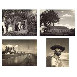 Pierre Verger<br />Conjunto com 4 (quatro) fotografias em gelatina e prata sobre papel fotográfico, com carimbo do artista e anotações no verso.<br />(UB 35) 18 x 24 cm, (UB 17) 18 x 24 cm, (UB30) 18,5 x 24 cm e (UB38) 20 x 16,5 cm. (sem moldura)
