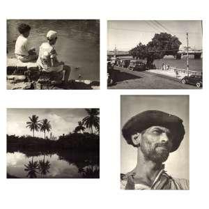 Pierre Verger<br />Conjunto com 4 (quatro) fotografias em gelatina e prata sobre papel fotográfico, com carimbo do artista e anotações no verso.<br />(UB 25) 18 x 24cm, (UB 21) 18,5 x 24 cm, (UB 8) 18 x 24,5 e (UB39) 24,5 x 18 cm. (sem moldura)